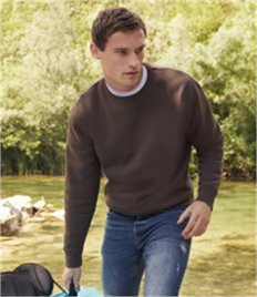 Fruit of the Loom Premium Drop Shoulder Sweatshirt