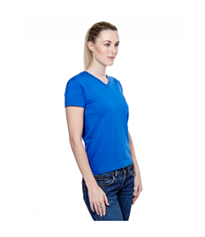 Uneek Ladies Classic V Neck T Shirt