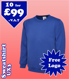 10 - UX3 Sweatshirt @ £99 XS-2XL