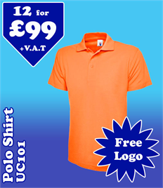 12 - UC101 Polo @ £99 XS-2XL