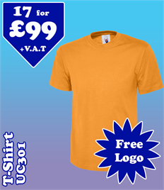 17 - UC301 T-Shirt @ £99 XS-2XL