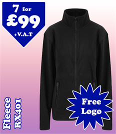 7 - RX401 Fleece @ £99 XS-2XL