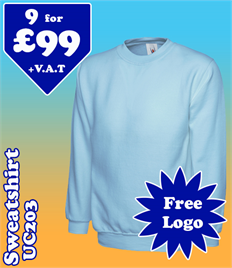 9 - UC203 Sweatshirt @ £99 XS-2XL