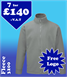 7 - 3200 Fleeces with YOUR LOGO £140 + VAT