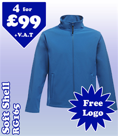 4 - RG165 Soft Shell @ £99 S-3XL