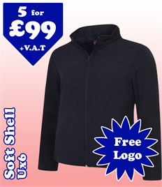 5 - UX6 Soft Shell @ £99 XS-2XL