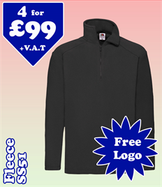 4 - SS51 Fleece @ £99 S-2XL