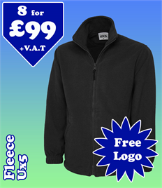 8 - UX5 Fleece @ £99 XS-2XL