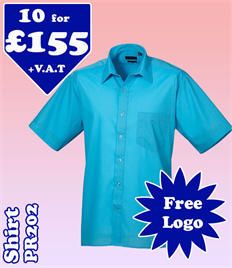 10 - PR202 Shirt 14.5-19 with YOUR LOGO £155
