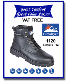 1120 - Safety Ankle Boot