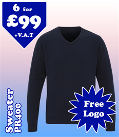 6 - PR400 V-Neck Sweater @ £99 XS-2XL
