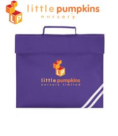 Little Pumpkins - Book Bag QD456