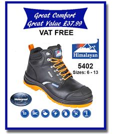 5402 - Reflecto Waterproof Safety Boot