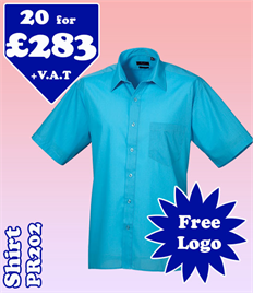 20 - PR202 Shirt 14.5-19 with YOUR LOGO £283