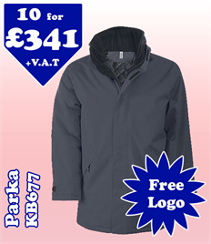 10 - KB677 Jacket XS-2XL with YOUR LOGO £341